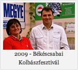 2009 - Békéscsabai Kolbászfesztivál